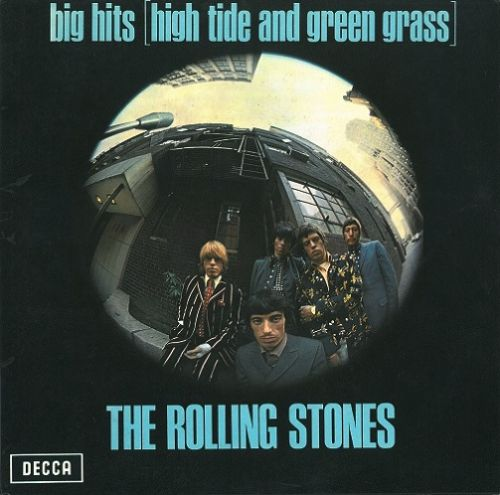 THE ROLLING STONES Big Hits High Tide And Green Grass Vinyl Record LP Decca 1966..